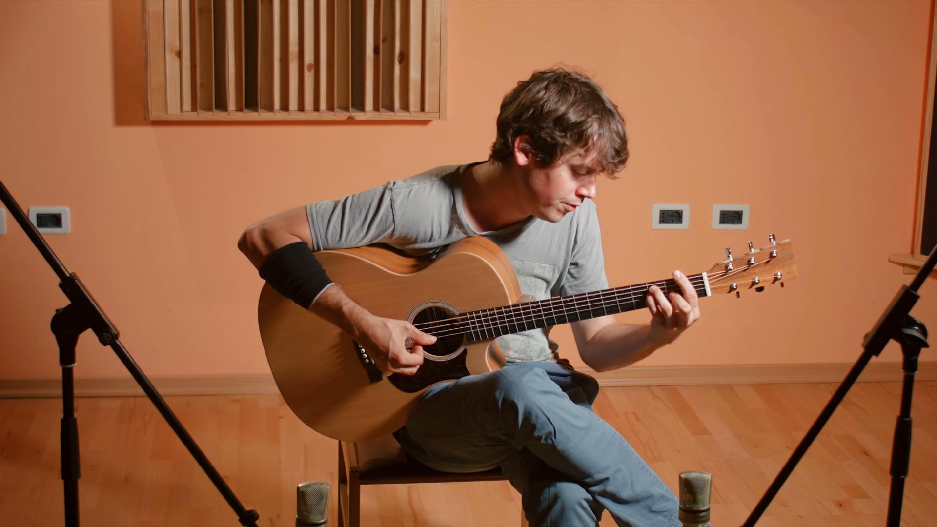 Martin GPCPA5K acoustic guitar test