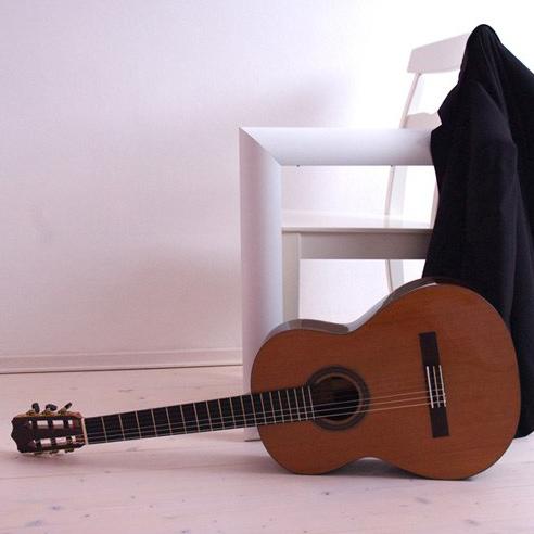 Michele Della Giustina cedar top classical guitar