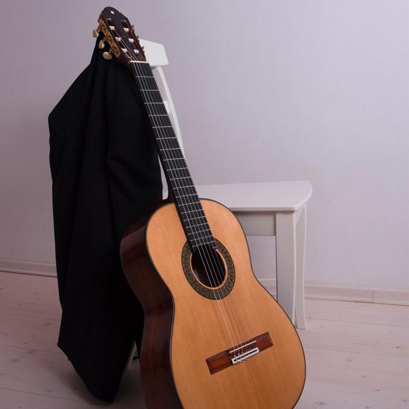 Bernd Holzgruber spruce top classical guitar