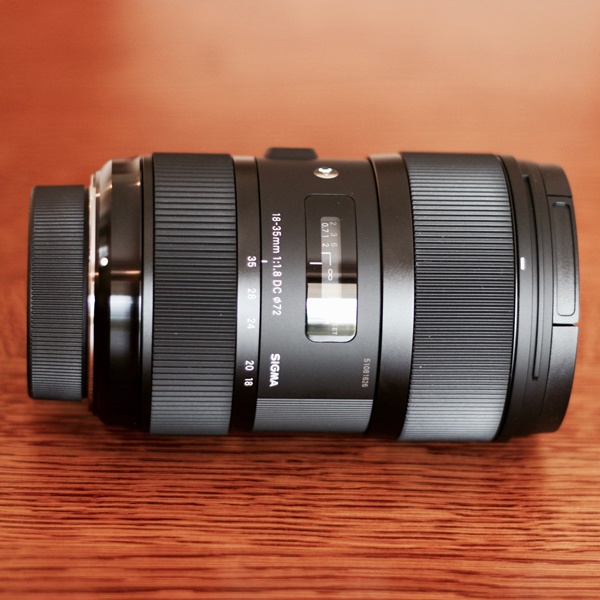 Sigma 18-35mm f/1.8 Nikon mount