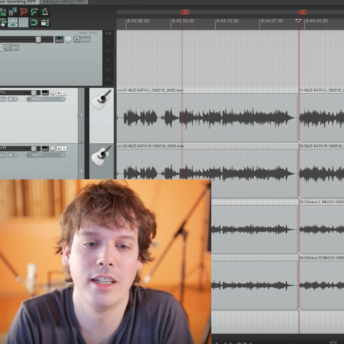 Editing Classical Guitar in Reaper – ep6