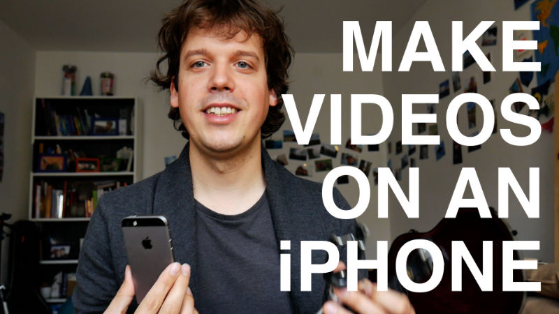 Making Music Videos on Your Smartphone